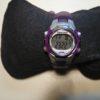 marathon timex purple watch