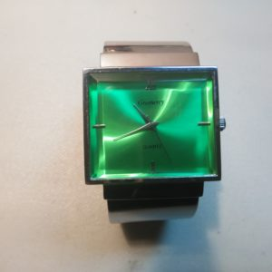gramercy watch - green face