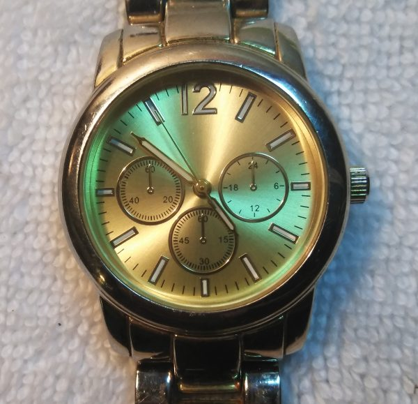 MERONA by FMD Fossil Chronograph Gold Tone Men's Watch FMDM164